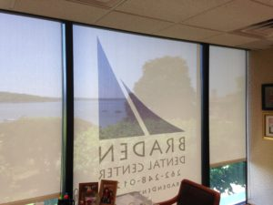 Custom Branded Commercial Solar Shades