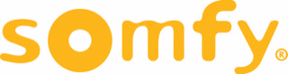 somfy yellow logo for white background